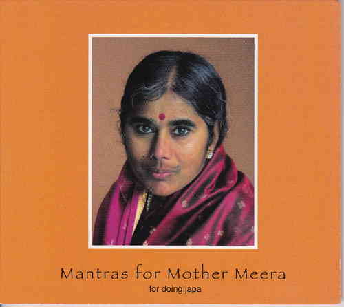 Mantras for Mother Meera, Music CD