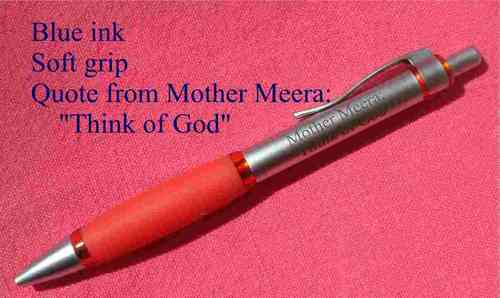 Pen with quote from Mother Meera
