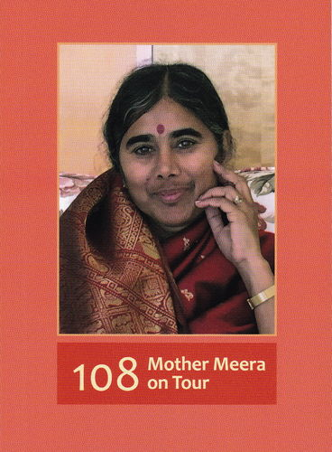 108 Mother Meera on Tour, english